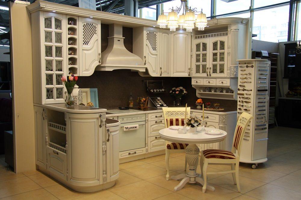 Зов кухонный гарнитур витринный образец кухонный гарнитур серебряный дождь